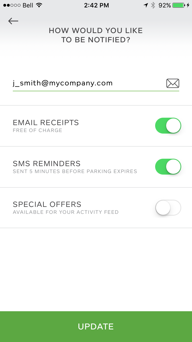 Paybyphone Support Uk Receipts amp; – Setup Reminders Sms Email